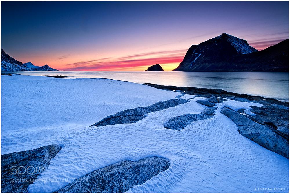 Photograph Haukland Beach by Christian Bothner on 500px