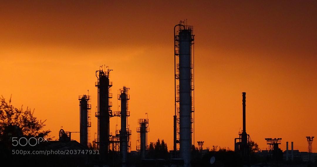 Astra Refinery Ruins in Ploiesti