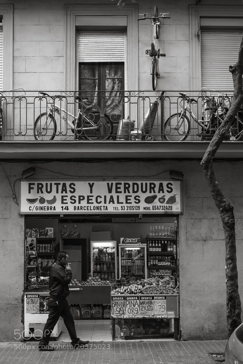 Photograph Bikes and fruits by Joan Vega on 500px