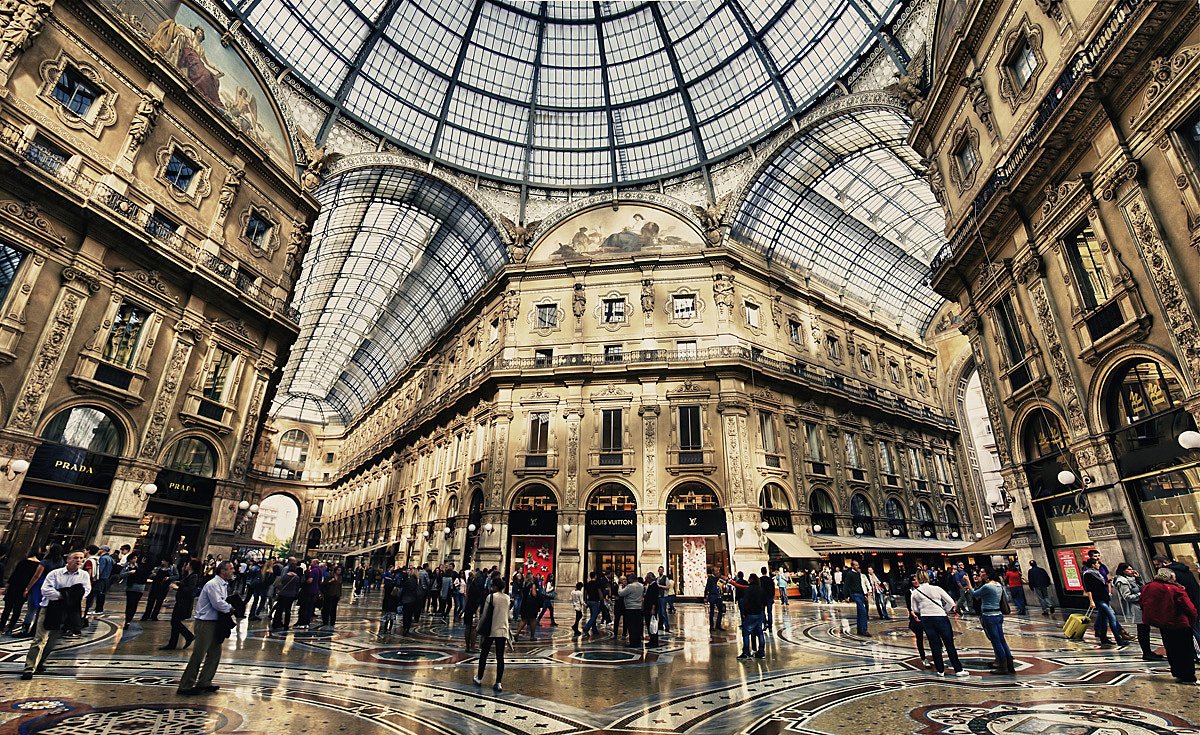 Photograph Galleria Vittorio Emanuele III by dogukan canakkale on 500px
