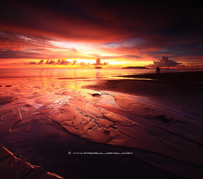 Photograph ...Explosion of Sunset... by Fakrul Jamil on 500px