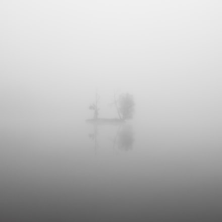 Island in the fog, Canon EOS 500D, Canon EF-S 24mm f/2.8 STM