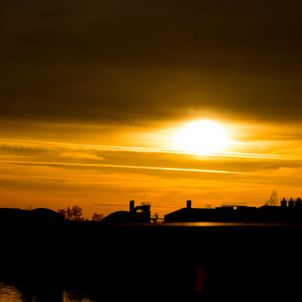 A Sunset Of The, Sony SLT-A57, Sigma 70-300mm F4-5.6 DL Macro