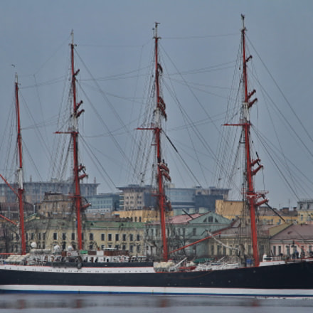 Sedov, Canon EOS 1000D, Sigma 18-125mm f/3.8-5.6 DC OS HSM