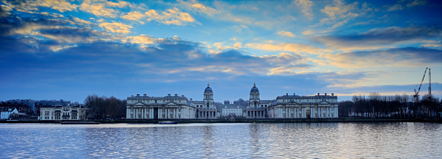 Early morning, Greenwich waterfront