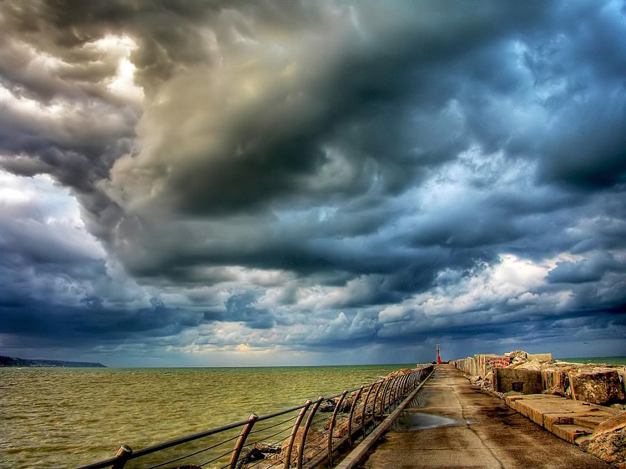 Photograph Stormy time by Grazyna Anna Kondracka on 500px