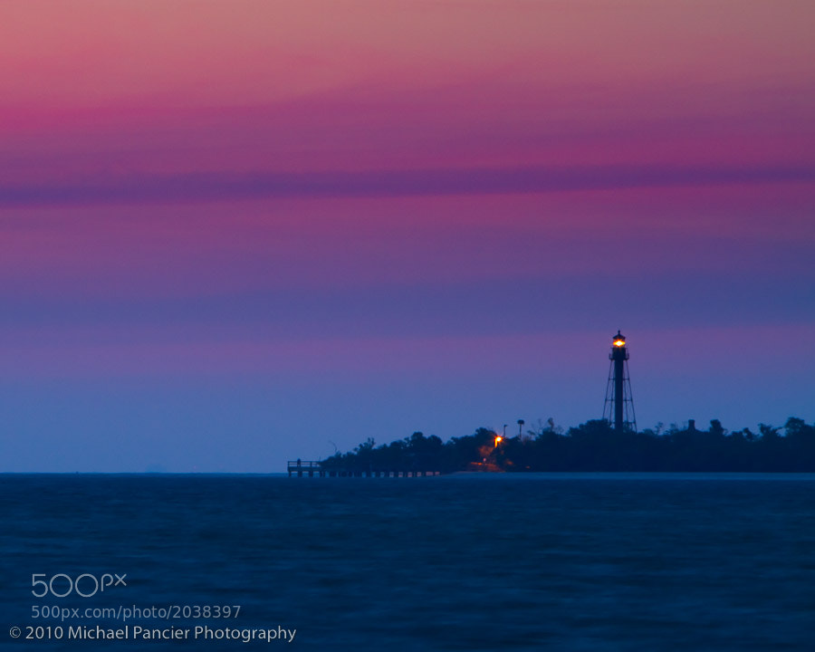 Photograph Sanibel Lighthouse at Sunrise by Michael Pancier Photography on 500px