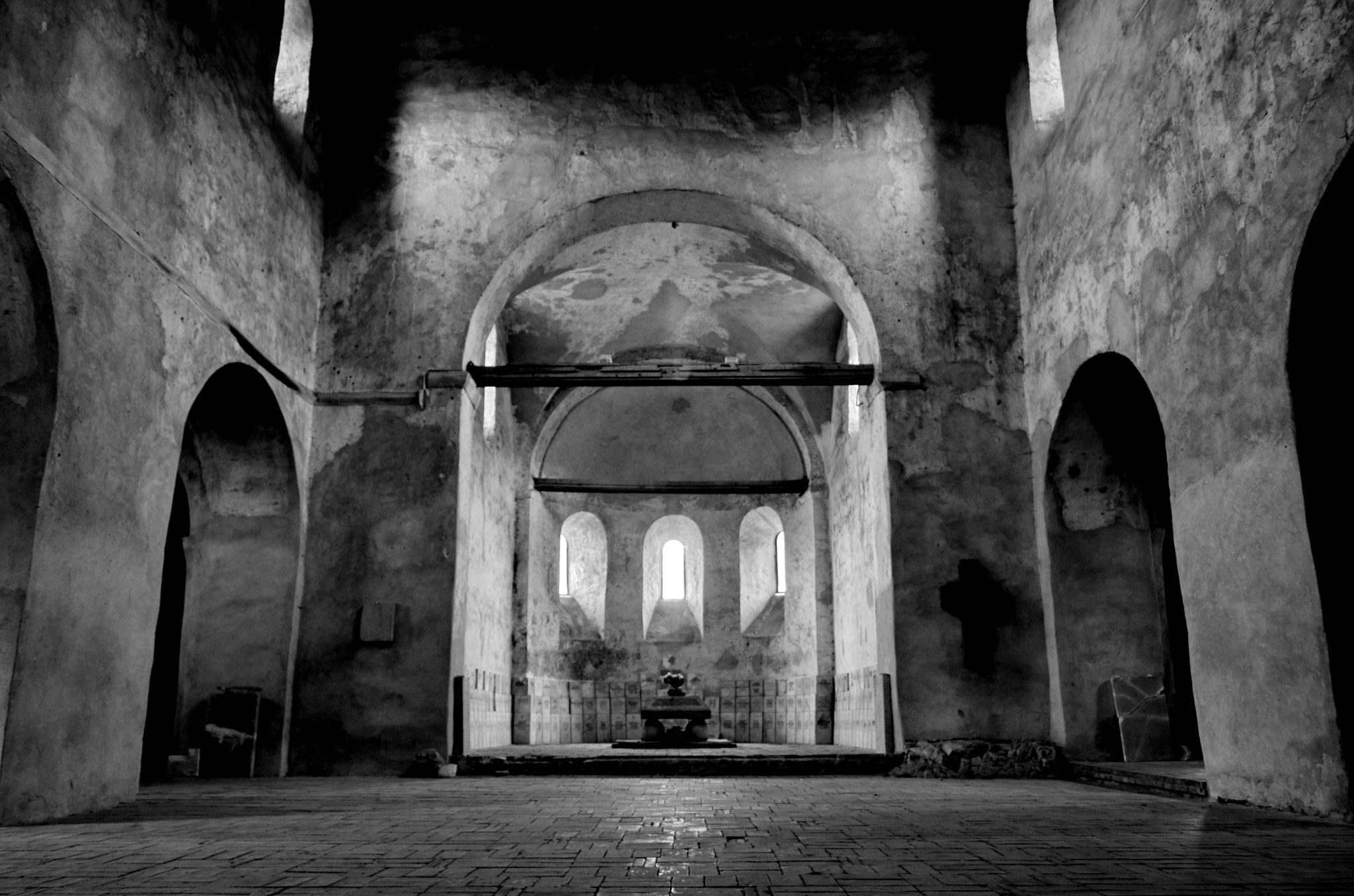 Photograph B&W altar by ionutmarcel on 500px