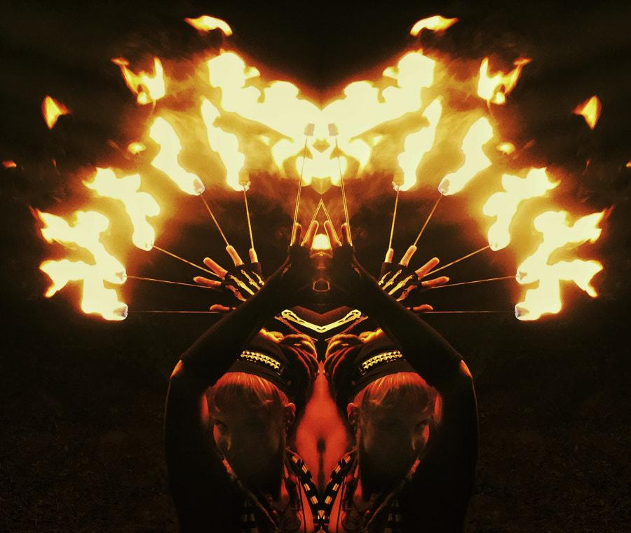Rorschach Flames