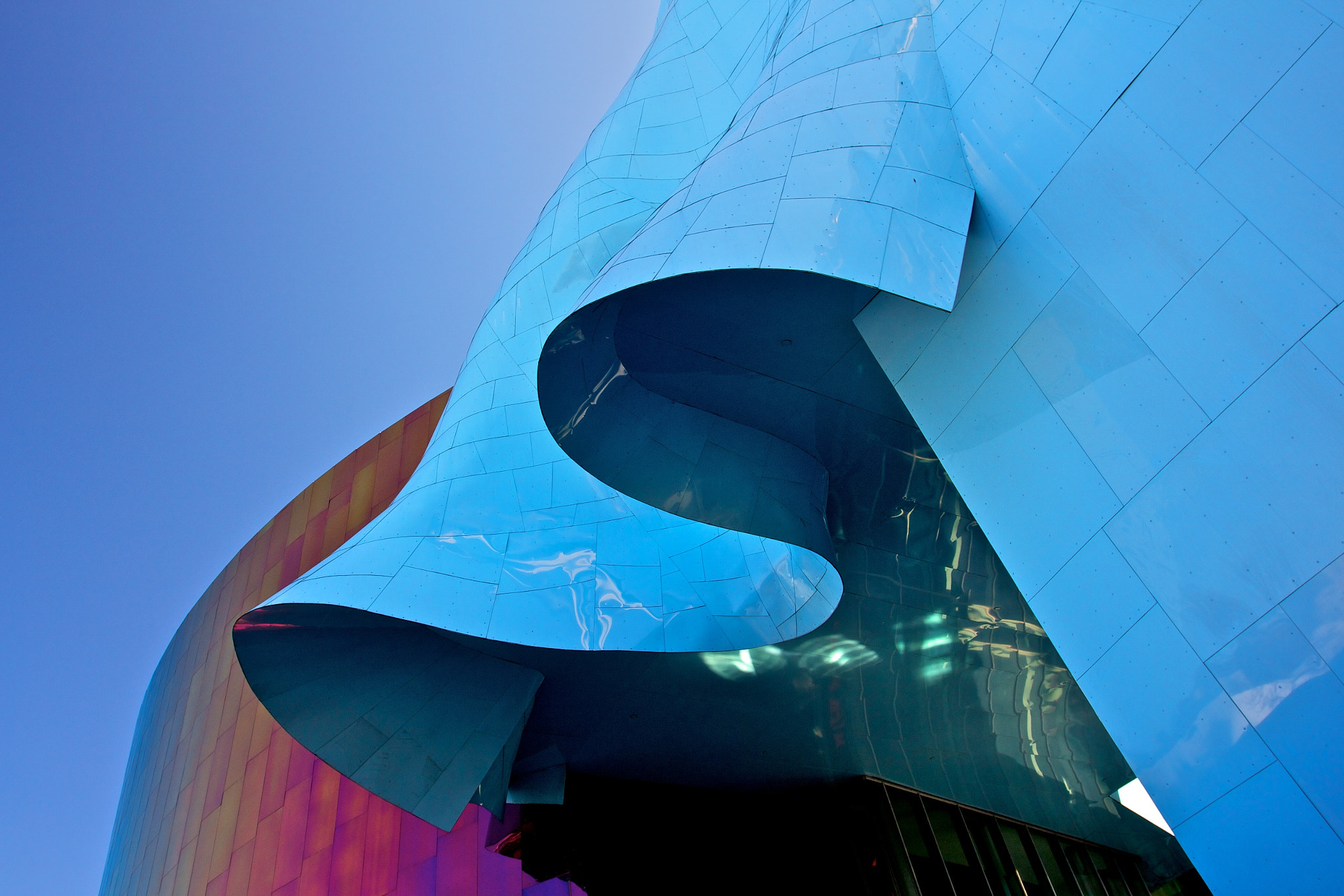 Photograph Seattle Experience Music Project and Science Fiction Museum and Hall of Fame by Guido Merkelbach on 500px