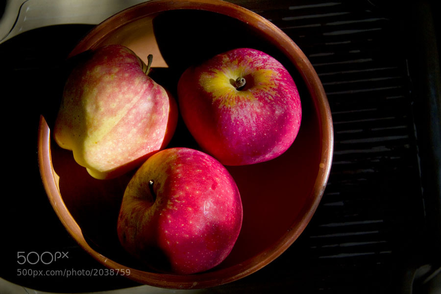 Photograph Three Apples by Faizan Khan on 500px