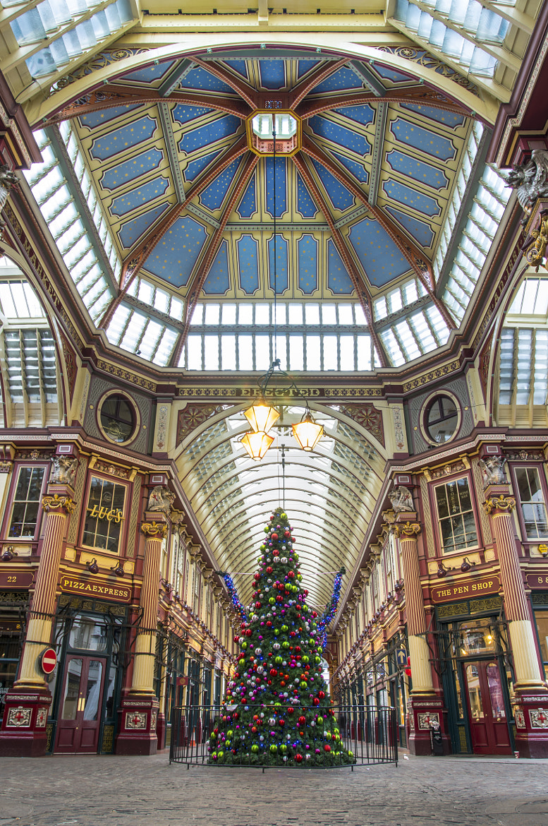 Photograph Leadenhall Christmas by Andy Kirby on 500px