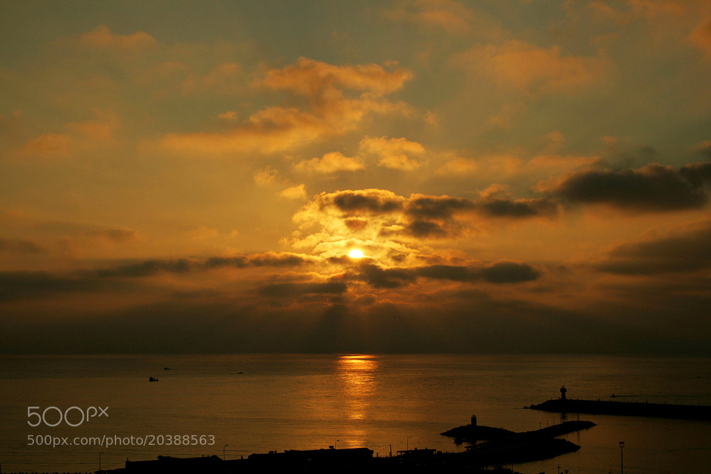 Photograph Sea Sunset by Sibel Sedefoğlu on 500px
