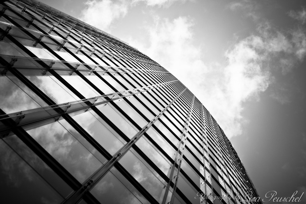 Photograph Glass front of the DB building by Lisa Peuschel on 500px