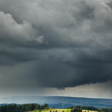 Thunderstorms approaching, Sony DSC-RX10, 24-200mm F2.8