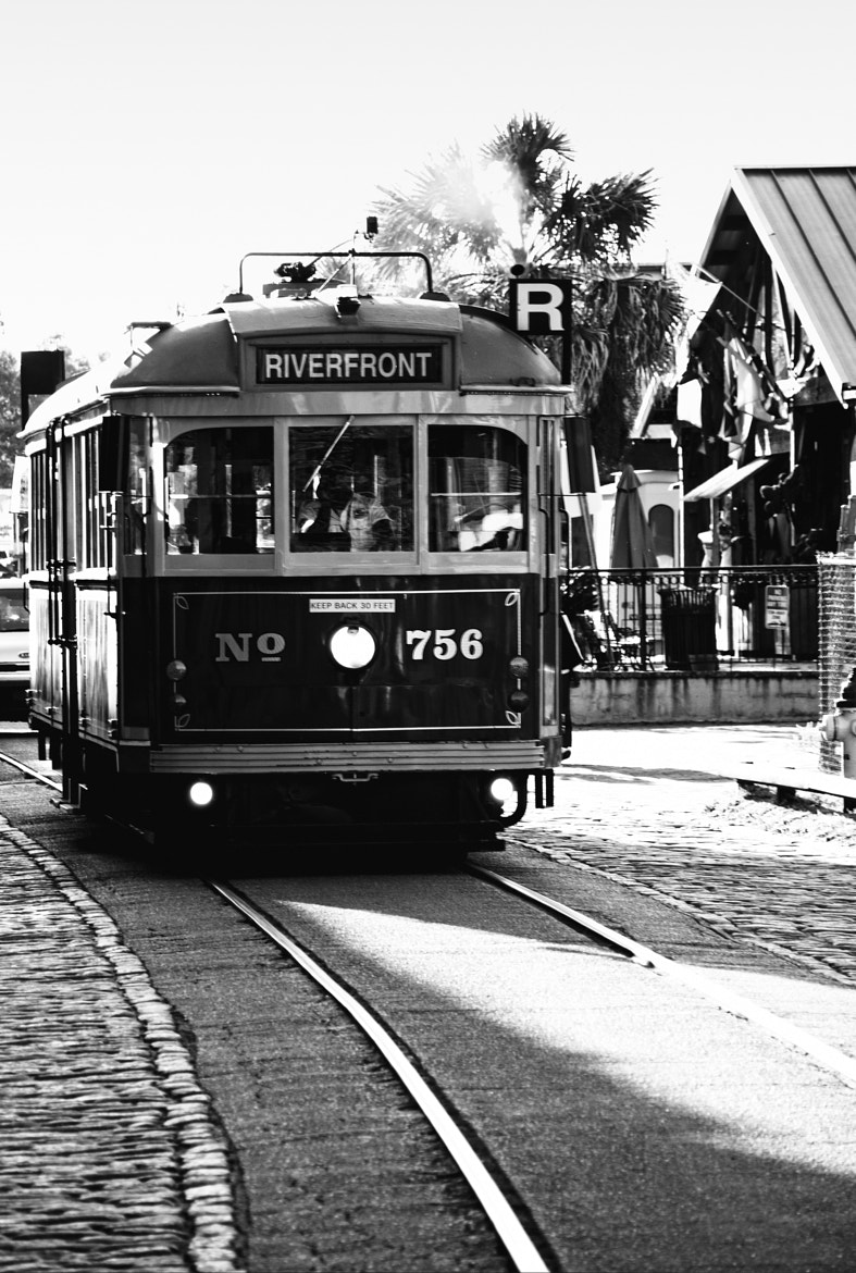 Photograph Riverfront trolley, Savannah by Augustus Brightman on 500px