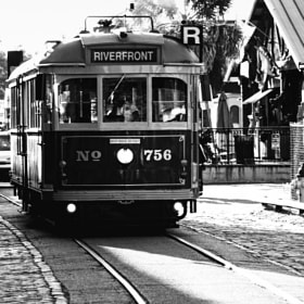 Riverfront trolley, Savannah by Augustus Brightman (augustus) on 500px.com