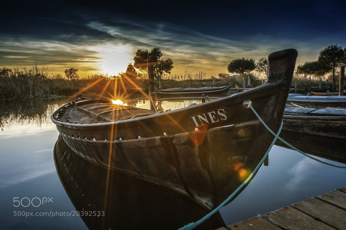 Photograph The Boat of INES by efecreata photography on 500px