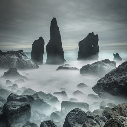 Icelandic Storm Beach and, Nikon D800E, Zeiss Distagon T* 2.8/21 ZF.2