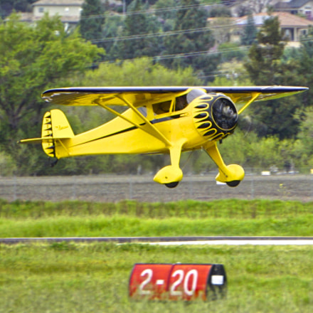 1933 Monocoupe 110 Special, Sony ILCE-6000, Sony E 55-210mm F4.5-6.3 OSS