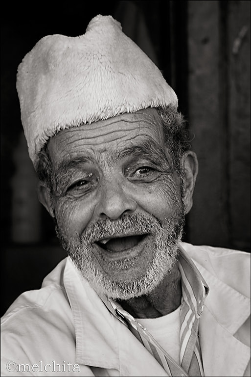 Photograph Old Man in Fez by Conchita Meléndez on 500px