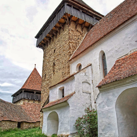 Fortified church of Wei, Nikon 1 V1, 1 NIKKOR VR 10-30mm f/3.5-5.6