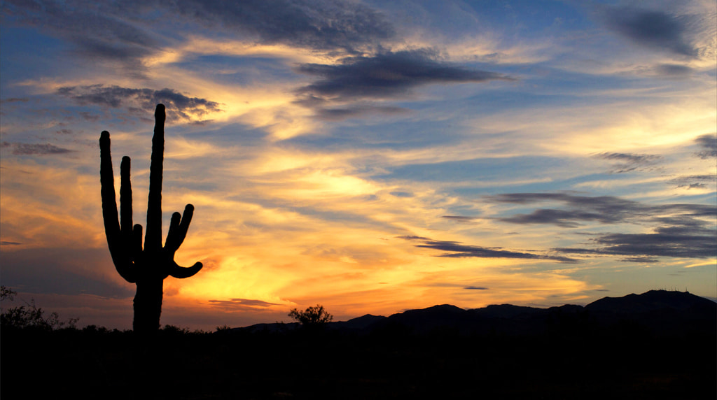 Photograph AZ Sunset  by Frank Hatcher on 500px