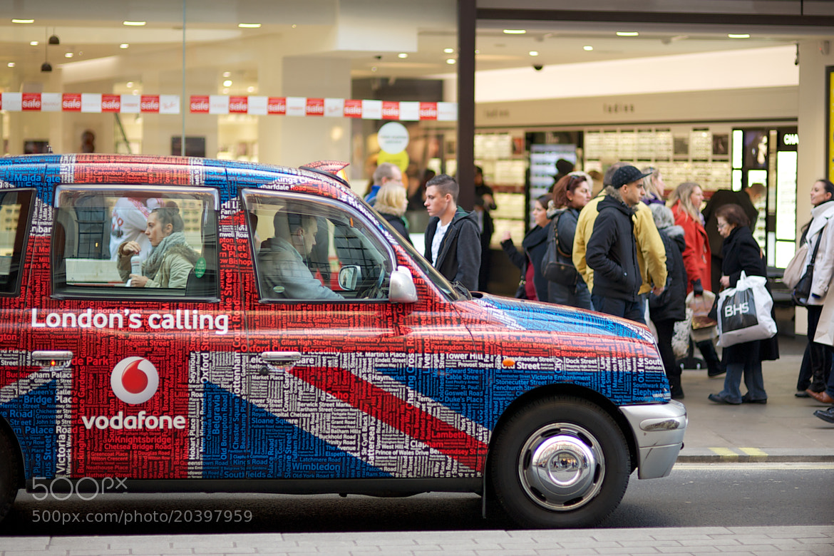 Photograph Londons Calling by James Johnson on 500px