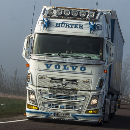 Volvo FH by Hurter, Canon EOS 50D, Canon EF 80-200mm f/2.8L