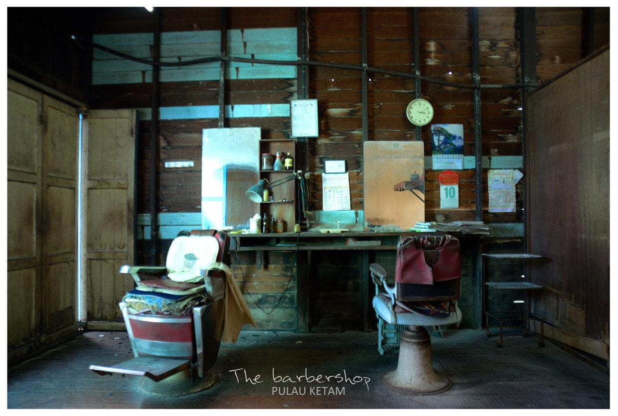 Photograph The barbershop by Fred Melot on 500px