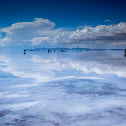 Unreal Salt flat Uyuni, Canon EOS 5D MARK III, Tamron SP AF 17-35mm f/2.8-4 Di LD Aspherical IF
