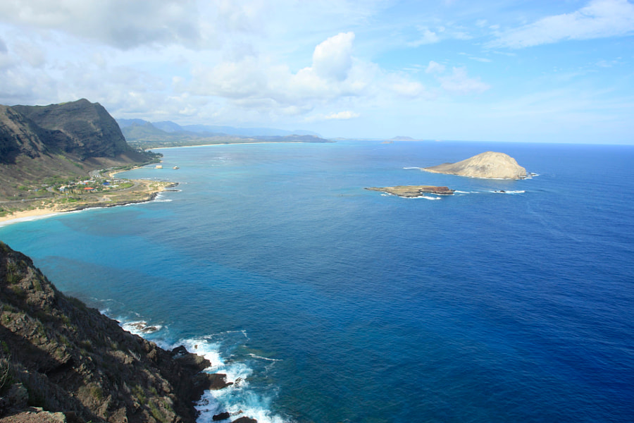 View from Makapu'u Point, Hawaii