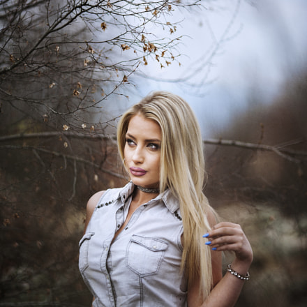 the blondie, Canon EOS 5D