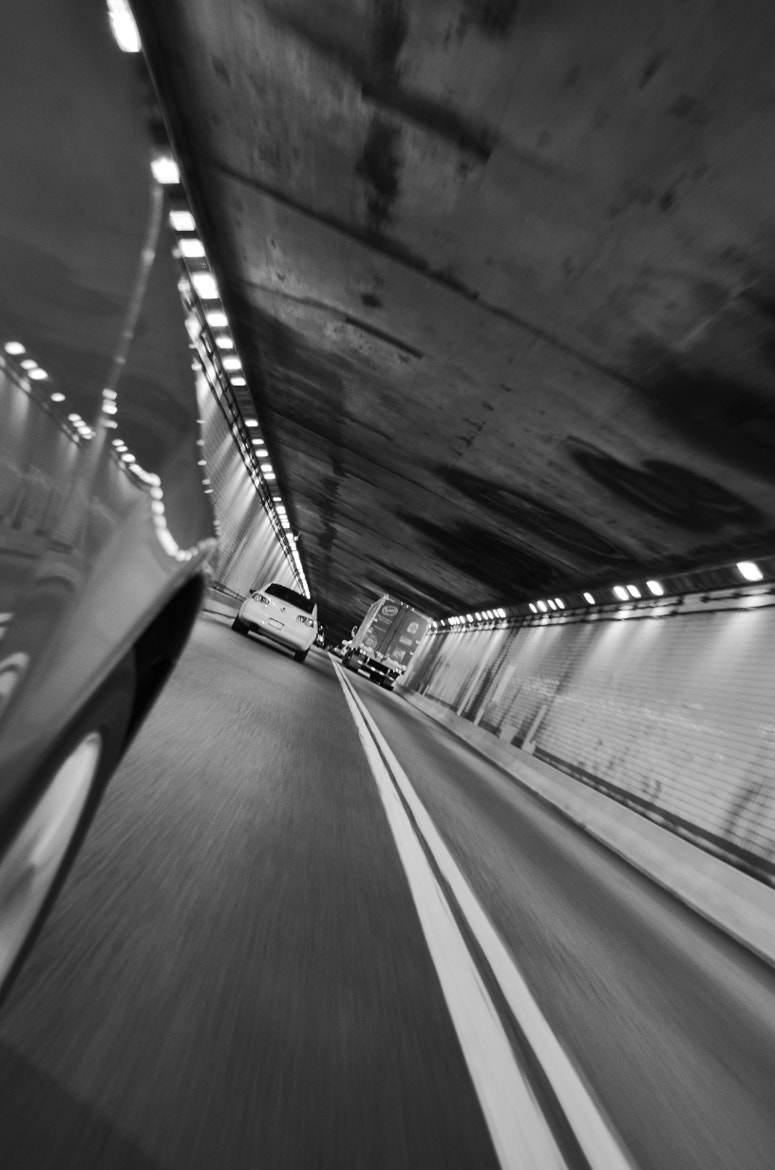 Photograph Tunnel by Mike Phillips on 500px