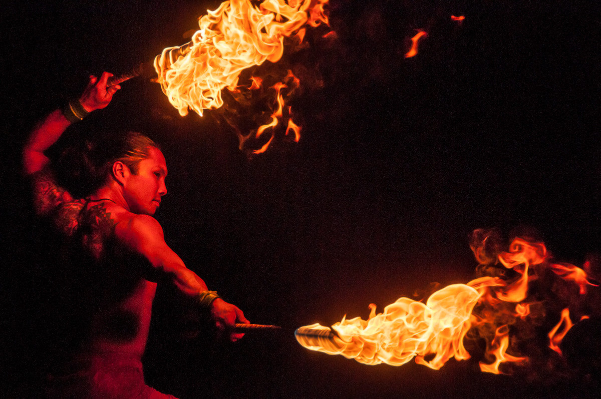 Photograph Fire Dancer by Mark Schadly on 500px