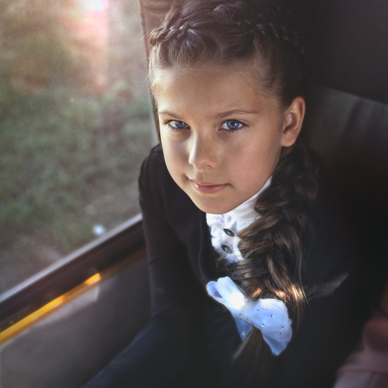 Photograph The girl in the bus by Feudor Zakharenkov on 500px