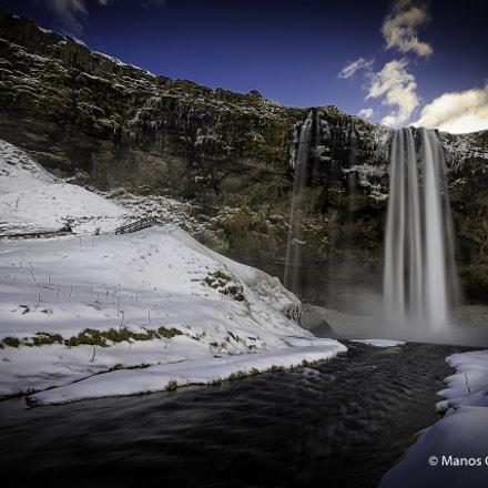 Seljalandsfoss, winter time
