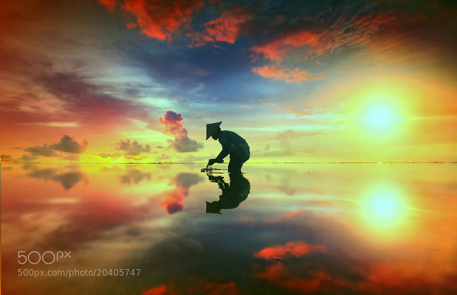 Photograph Standing with the Shadow by Alit Apriyana on 500px