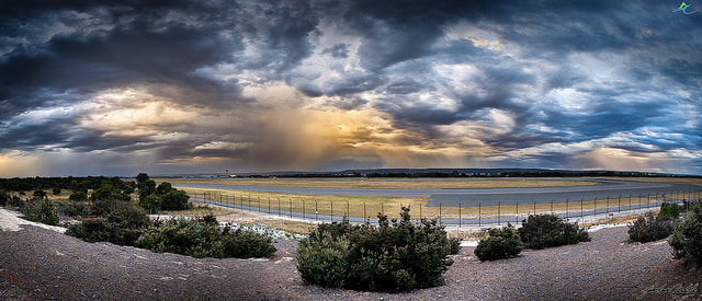 Photograph Perth Airports Stormy Sunset by Jordan  Cantelo on 500px