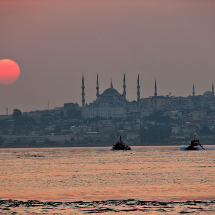 Istanbul Sunset, Canon POWERSHOT S2 IS