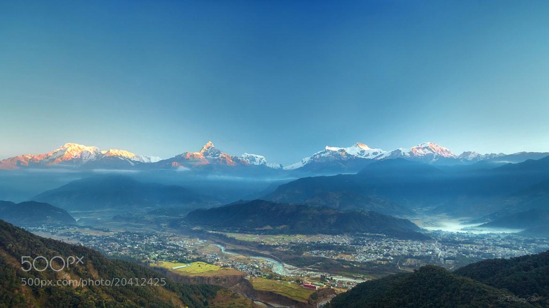 Photograph Nepal - Sarangkot Sunrise, Pokhara by Dhilung Kirat on 500px