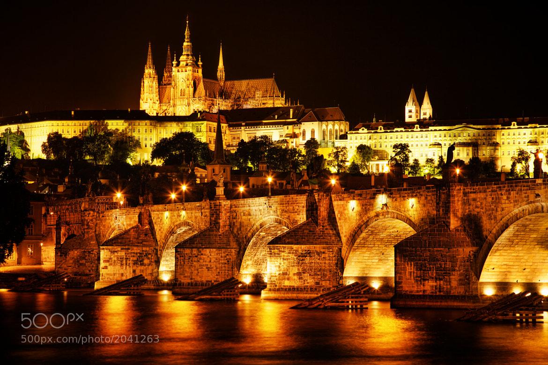 Photograph Nightfall on Prague Castle by Anurag Yagnik on 500px