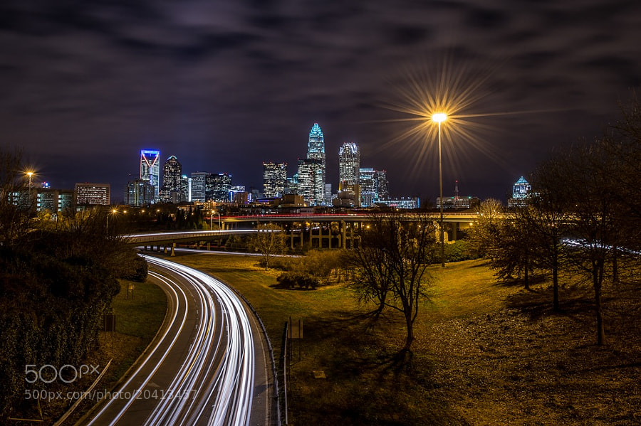 Photograph Charlotte Skyline by Ken Toney on 500px