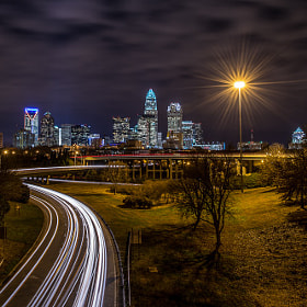 Charlotte Skyline by Ken Toney (Flounderman)) on 500px.com