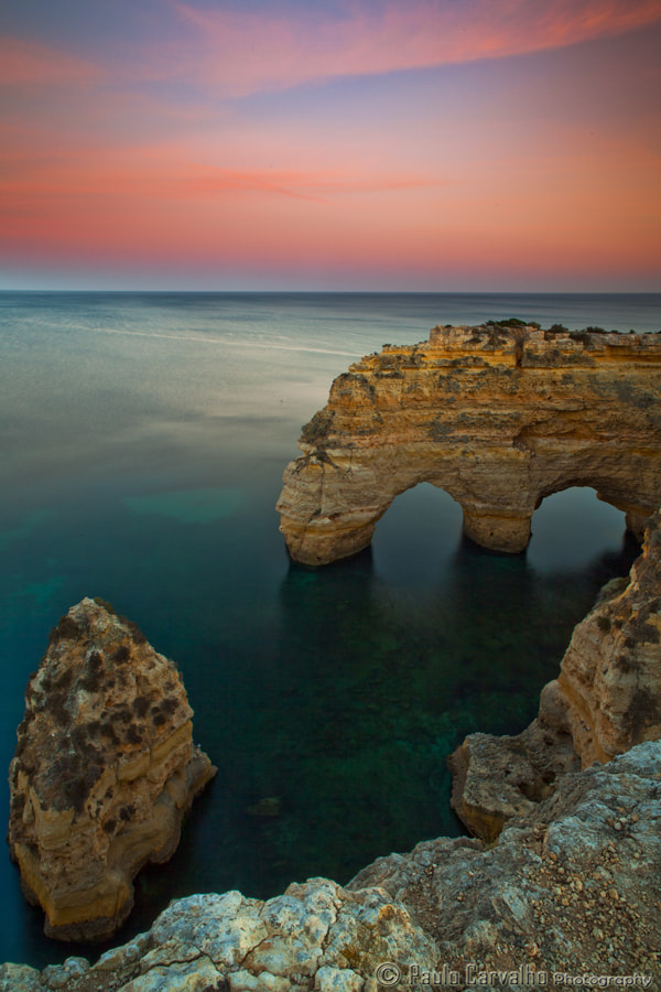 Photograph Marinha Beach by Paulo Carvalho on 500px