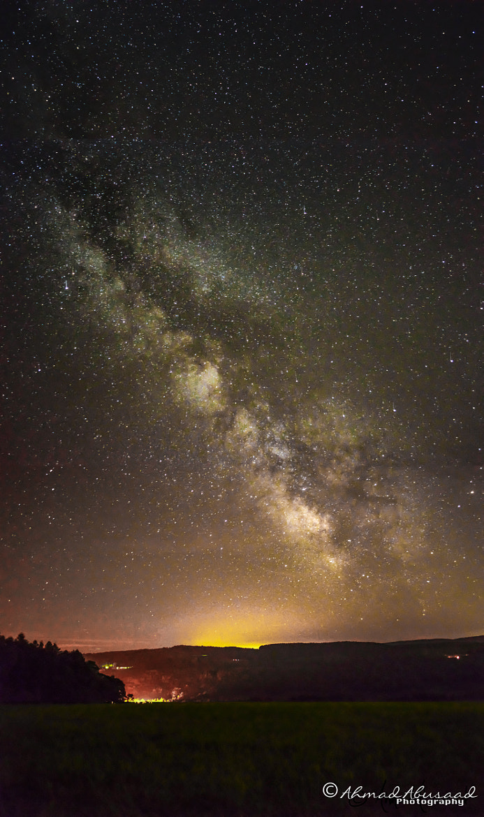 Photograph Milky way by Ahmad Abusaad on 500px