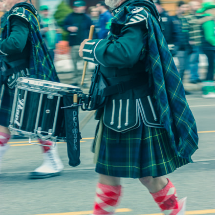 St. Patrick's day Parade!, Canon EOS REBEL T3I, Canon EF-S 55-250mm f/4-5.6 IS STM
