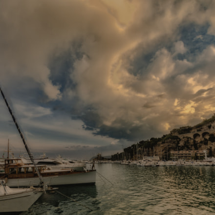 clouds over the harbor, Nikon D7000, Sigma 10-20mm F3.5 EX DC HSM