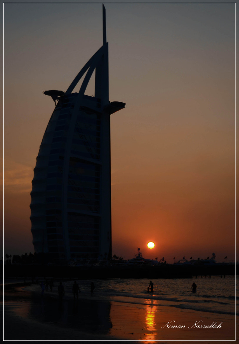 Photograph Sunset at the tower of arabs! by Noman Nasrullah on 500px