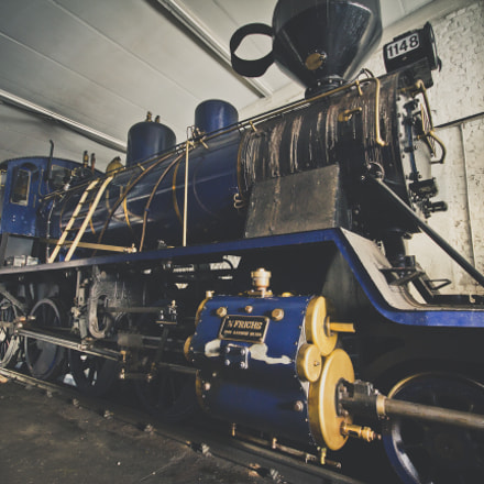 The Steam Engine, Canon EOS 60D, Sigma 10-20mm f/4-5.6